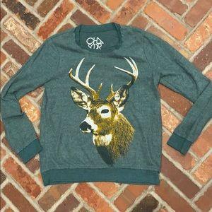 Chaser deer sweater